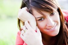 Free Smiling Girl Royalty Free Stock Photography - 8792037
