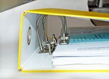 Free Document File Stock Image - 8792491