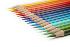 Free Color Pencils Royalty Free Stock Image - 8792766