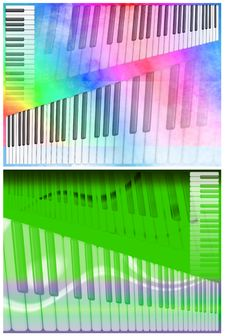 Free Musical Backgrounds Keyboards Stock Photography - 8792892