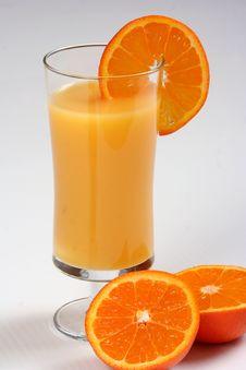 Free Fresh Orange Juice Royalty Free Stock Photography - 8793477