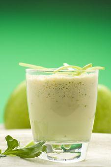 Free Fresh Fruit Milk Shake Apple Royalty Free Stock Image - 8793676