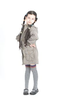 Free Beautiful Little Girl Royalty Free Stock Photos - 8793778