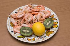 Free Cooked Prawns Royalty Free Stock Photos - 8793808