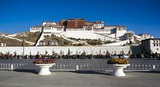 Free Potala Palace Royalty Free Stock Image - 8793856