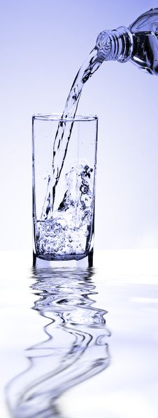 Free A Glass Of Clean Water Stock Photography - 8794312