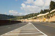 Free Empty Highway Royalty Free Stock Image - 8794516