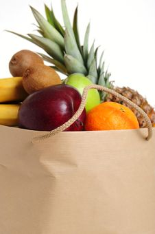 Free Fruits In Bag Royalty Free Stock Images - 8794779