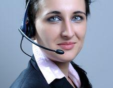 Free Businesswomen Wearing Headset Stock Photo - 8794810