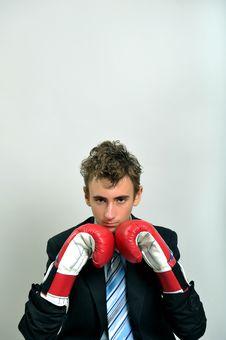 Fighter Businessman Stock Photos