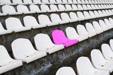 Free Tribune At Stadium. Royalty Free Stock Photo - 8795265