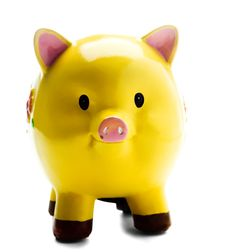 Free Close-Up Of A Piggy Bank Stock Photos - 8795273