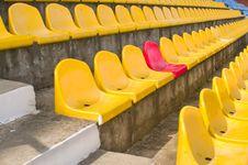Free Tribune At Stadium. Royalty Free Stock Photography - 8795297
