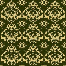 Free Traditional Ottoman Turkish Tile Illustration Stock Photography - 8795422