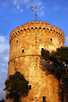 Free White Tower In Thessaloniki Greece Royalty Free Stock Photography - 8795787