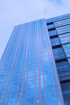 Free Blue Building Royalty Free Stock Image - 8795836