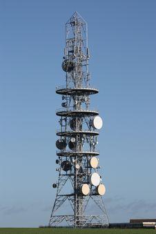 Free Transmission Mast. Stock Image - 8796551