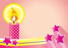 Free Candle Background Royalty Free Stock Photos - 8796898