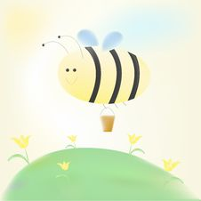 Free Bee Royalty Free Stock Image - 8796936