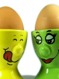 Nice Eggs Royalty Free Stock Photography
