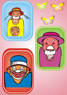 Free Clown Royalty Free Stock Photos - 8797668