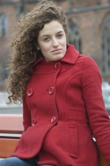 Free Girl In Red Jacket - Portrait Royalty Free Stock Image - 8797846