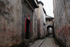 Free Ancient Town In The South Royalty Free Stock Photos - 8798918