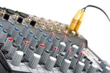 Free Audio Control Console Stock Photo - 8799500