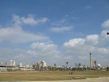 Free Panorama, Tel Aviv Israel Royalty Free Stock Photo - 8799545