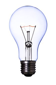 Free Blue Lamp Bulb Stock Images - 8799574