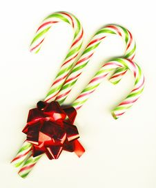 Free Candy Cane Stock Photography - 8799652