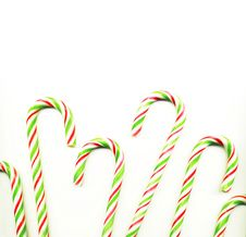 Free Candy Cane Royalty Free Stock Image - 8799876