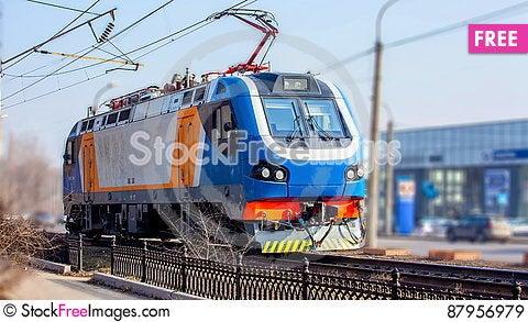 Free Railway Locomotive Royalty Free Stock Images - 87956979