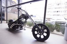 Free Motorbike In Showroom Royalty Free Stock Photos - 87960738