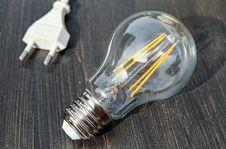 Free Light Bulb And Plug Stock Image - 87963341