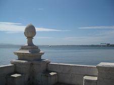 Free Sculpture Overlooking Sea Stock Photos - 87964073