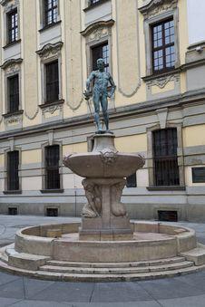 Free Statue On Fountain, Wroclaw, Poland Stock Photo - 87967230