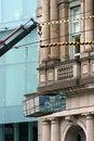 Free Crane With City Buildings Stock Photos - 888383