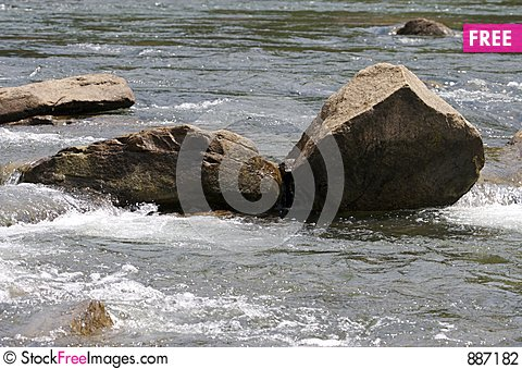 Free Rocks In A River Stock Photography - 887182