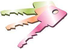 Free Vector Keys Royalty Free Stock Photo - 880875