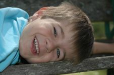 Free Smiling Boy Royalty Free Stock Photography - 881247
