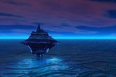 Free Floating Isle Royalty Free Stock Photos - 881348
