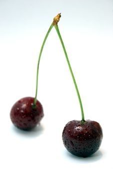 Free Two Cherries Stock Image - 881411