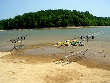 Free Fishing Poles Stock Photos - 881443