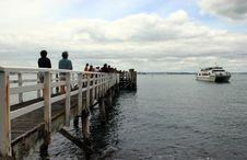Free Ferry At Wharf Stock Photos - 881933