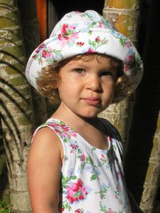 Free Tropical Child Portrait 2 Royalty Free Stock Image - 882066
