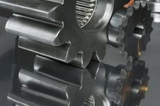 Free Close-up Steel Connection Royalty Free Stock Photos - 882358