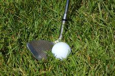 Free Golf Shot Stock Image - 884001