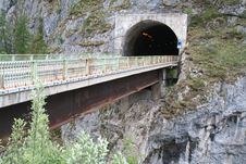 Free Tunnel - Alps - Dolomiti - Italy Stock Image - 884211