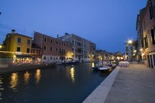 Free Venice At Dusk Royalty Free Stock Photography - 884677